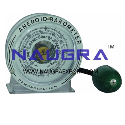 Barometer Aneroid Demonstration for Physics Lab
