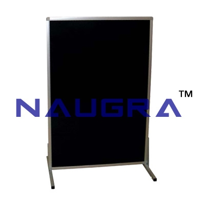 Upright blackboard with stand for Whiteboard Lab