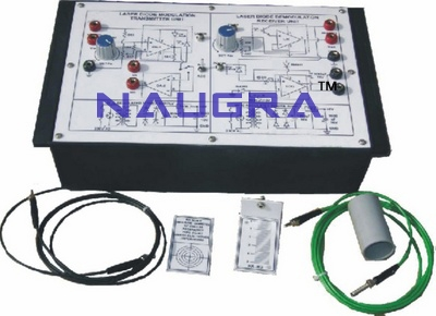 Laser Diode Intensity Modulation and Demodulation Trainer for Vocational Training and Didactic Labs