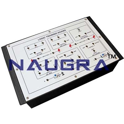 Logic Training Board Counters and Shift Trainer for Vocational Training and Didactic Labs