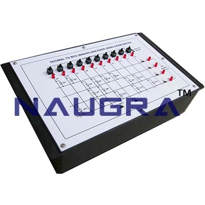 Hexadecimal to Binary Encoder Trainer for Vocational Training and Didactic Labs