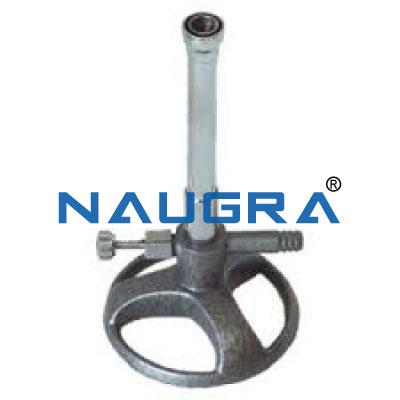 BURNER BUNSEN (Natural Gas) for Chemistry Lab