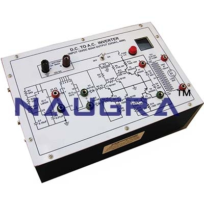 AC Regulators using Triac Trainer for Vocational Training and Didactic Labs