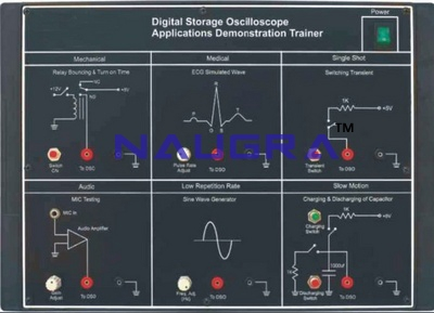 Digital Storage Oscilloscope Trainer & Lab Demonstration Kit for Vocational Training and Didactic Labs