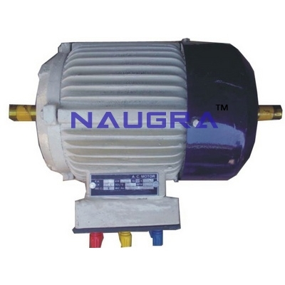 3 Phase Ac Squirrel Cage Induction Motor  for Electronics labs for Teaching Equipments Lab