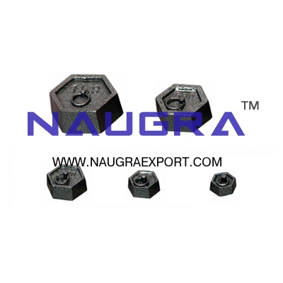 Weight Set for Physics Lab