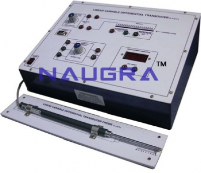 Linear Variable Differential Transducer (L.V.D.T) Educational Trainer for Vocational Training and Didactic Labs