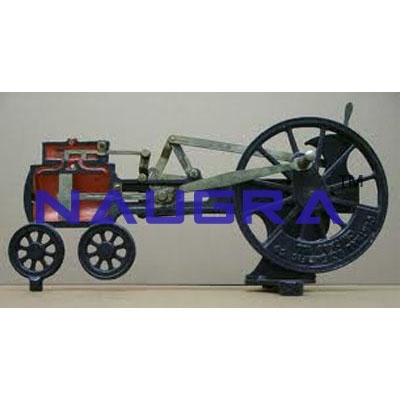 Model of Piston Valve Steam Engine - Heat Transfer Training Systems and Heat Lab Engine Trainers for engineering schools
