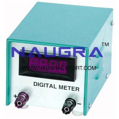 Meter - Digital Panel Meter for Physics Lab