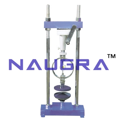 Unconfined Compression Tester Proving Ring Type (Hand Operated) For Testing Lab for Soil Testing Lab