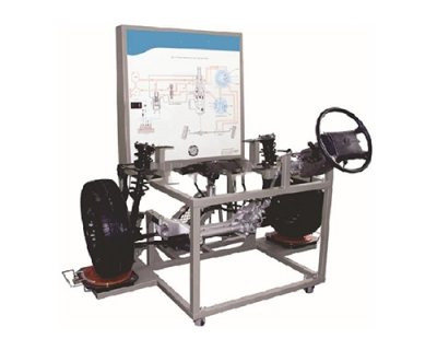 Power Steering Trainer (perable rack and pinion type)for engineering schools