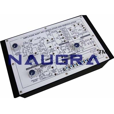 Amplitude Shift Key Modulation Trainer for Vocational Training and Didactic Labs