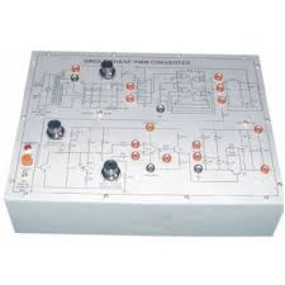 3 Phase Fully Controlled Thyristorized Bridge Converter - Triggering Circuit for Power Electronics Training Labs for Vocational Training and Didactic Labs