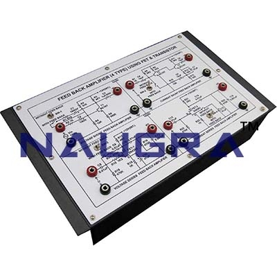 Feedback Amplifier Trainer for Vocational Training and Didactic Labs