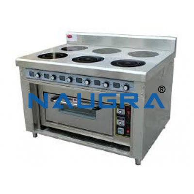 Industrial Stove With Oven