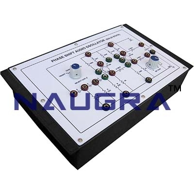 Phase Shift Audio Oscillator Trainer for Vocational Training and Didactic Labs