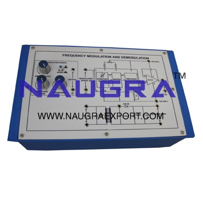 Frequency Modulation / Demodulation Trainer for Vocational Training and Didactic Labs
