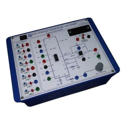 Digital To Analog Converter (D to A) for Vocational Training and Didactic Labs