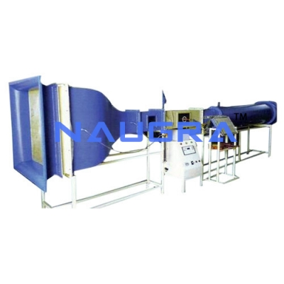 Aspiration wind tunnel Trainer for engineering schools