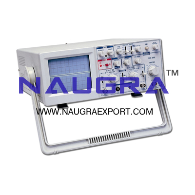 Oscilloscope Dual Trace 20 MHz for Physics Lab