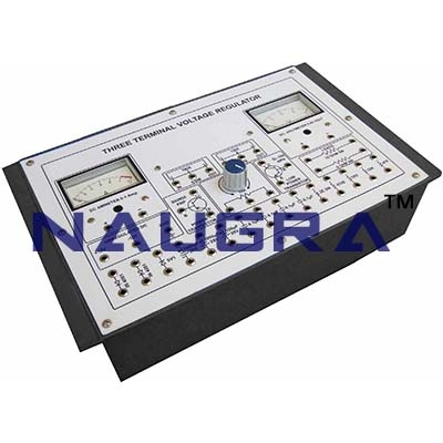3 Terminal Voltage Regulated Trainer for Vocational Training and Didactic Labs