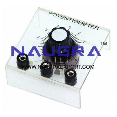 Potentiometer Linear for Physics Lab
