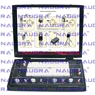 Analog Circuits Development Platform Trainer for Electronics Teaching Labs
