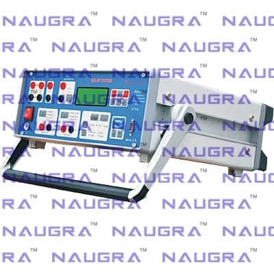 Relay Tester - Front panel controlled Dual Current Single Phase Relay test set for Electrical Engineering Teaching Labs