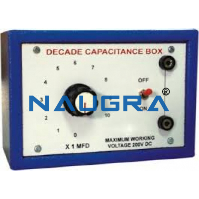 Capacitance Decade Box