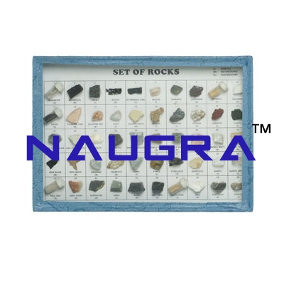 SET OF ROCKS AND MINERALS SET OF 50 for Earth Science Lab