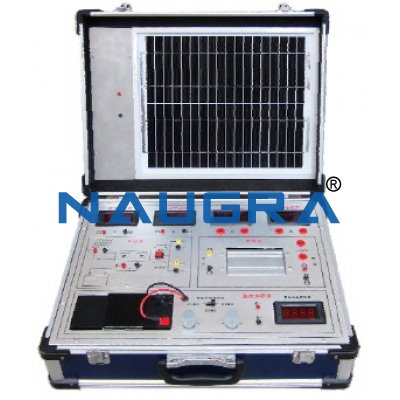 Photovoltaic Solar Energy Unit Trainer for engineering schools