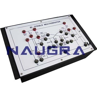 Multivibrator Trainer for Vocational Training and Didactic Labs
