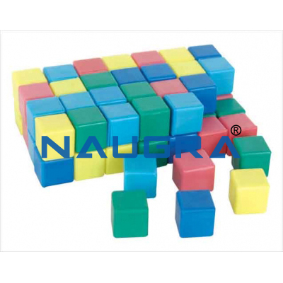 Cube set for Maths Lab
