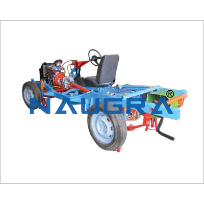 Demonstration Car Chassis Automobile Engineering Model and Training System for engineering schools