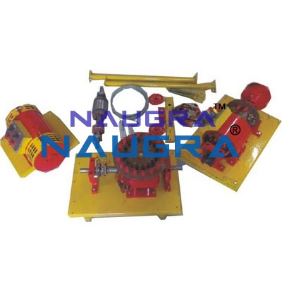 Electrical Machine Trainers for Electrical Lab