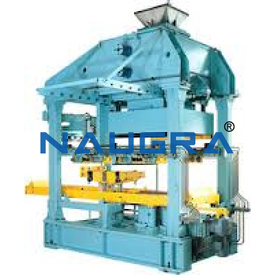 Sand mould and core making equipment