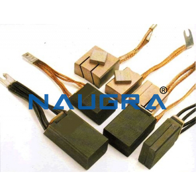 Industrial Carbon Brushes - 15 for Electric Motors Teaching Labs