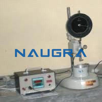 Concrete Penetration Test Apparatus