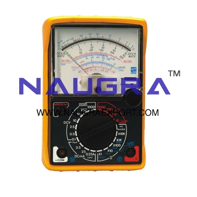 Multimeter Analogue for Physics Lab