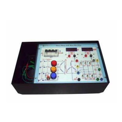 Three Phase Half Wave Rectifier for Power Electronics Training Labs for Vocational Training and Didactic Labs