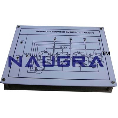 Modulo Counters Trainer for Vocational Training and Didactic Labs
