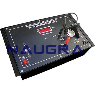 Measurement of Magneto Resistance of Semiconductor Trainer for Vocational Training and Didactic Labs