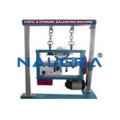 Static and Dynamic Balancing Equipment