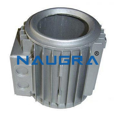 Aluminum Motor for Electric Motors Teaching Labs