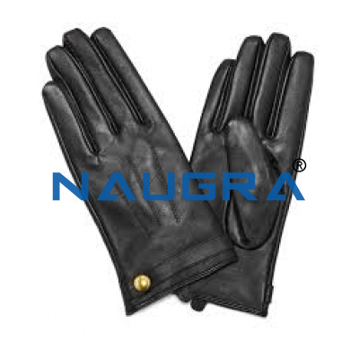GLOVES LEATHER for Chemistry Lab