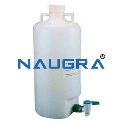 Aspirator Bottle for School Science Lab