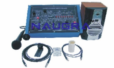 Physics of Fiber Optics Trainer for Vocational Training and Didactic Labs