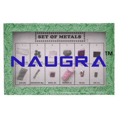 SET OF METAL SET OF 12 for Earth Science Lab