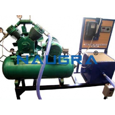 Single Stage Air Compressor Test Rig for engineering schools
