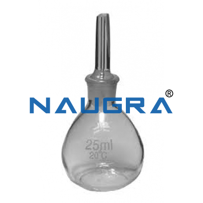 Specific Gravity Bottle for Science Lab